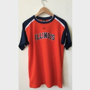 Illinois Orange Sports Shirt